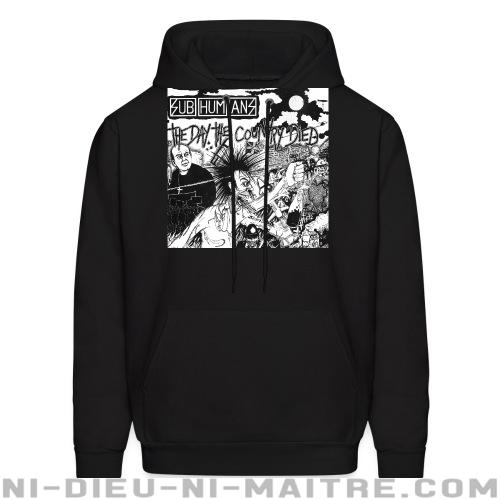 Subhumans - The day the country died - Sweat à capuche (Hoodie) Band Merch