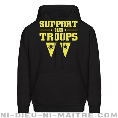 Support our troops! YPJ/YPG - Sweat à capuche (Hoodie) Rojava
