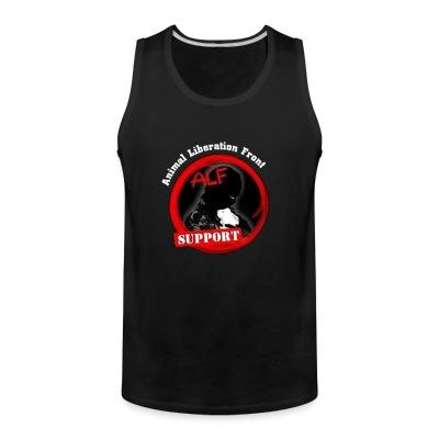 Débardeur homme ALF Animal Liberation Front support