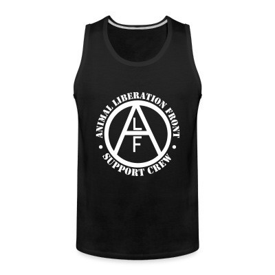 Débardeur homme ALF Animal Liberation Front support crew