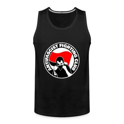 Débardeur homme Antifascist fighting club