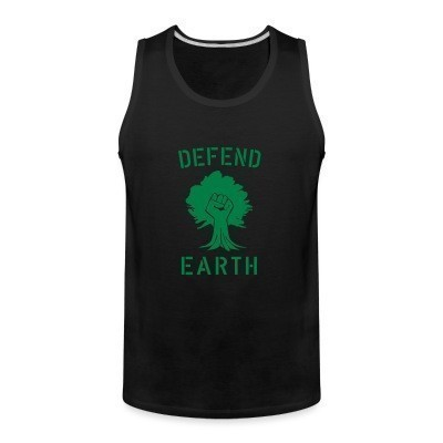 Débardeur homme Defend earth