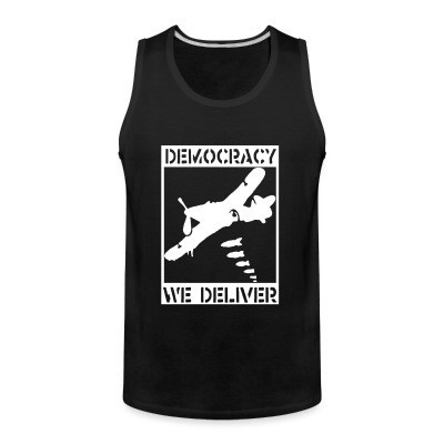 Débardeur homme Democracy we deliver