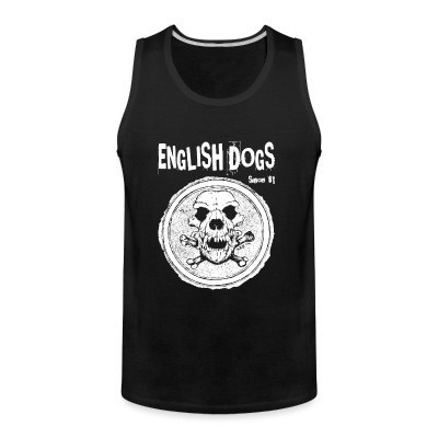 Débardeur homme English Dogs - Since 81