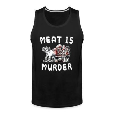 Débardeur homme Meat is murder