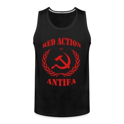 Red action antifa
