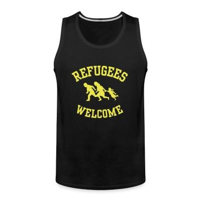 Débardeur homme Refugees welcome