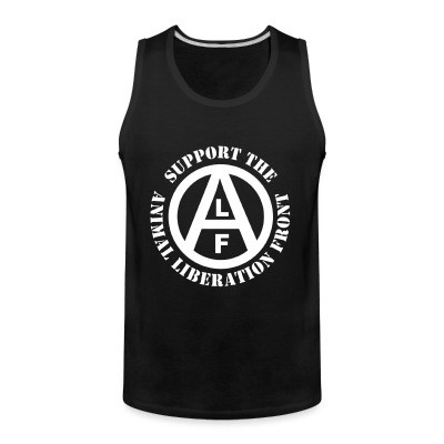 Débardeur homme Support the Animal Liberation Front (ALF)