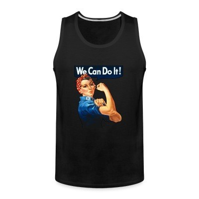 Débardeur homme We can do it! (Rosie The Riveter)