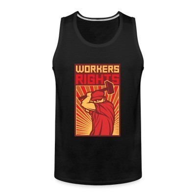 Débardeur homme Workers rights