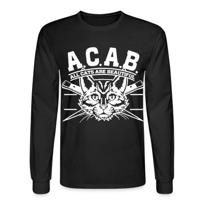 Manches longues A.C.A.B. All Cats Are Beautiful