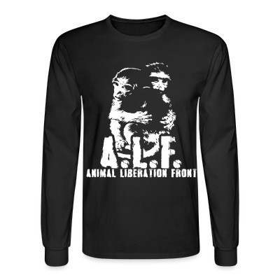 Manches longues A.L.F Animal Liberation Front