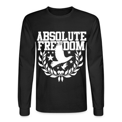 Manches longues Absolute freedom