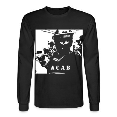 Manches longues ACAB police