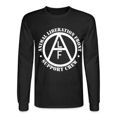 Manches longues ALF Animal Liberation Front support crew