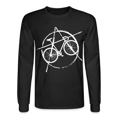 Manches longues Anarcho-cyclist