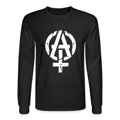 Manches longues Anarcho-feminist