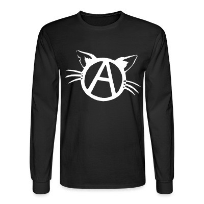 Manches longues Anarchy cat
