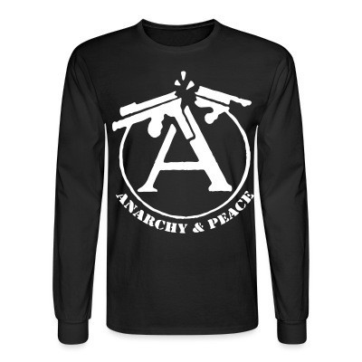 Manches longues Anarchy & peace
