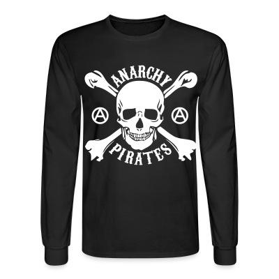 Manches longues Anarchy pirates