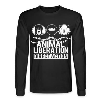 Manches longues Animal liberation direct action