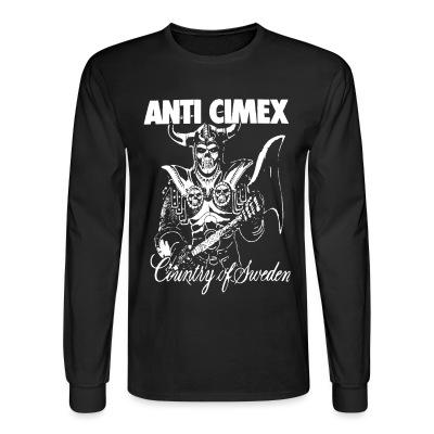 Manches longues Anti Cimex - Country of Sweden