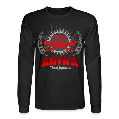 Manches longues Antifa street fighters