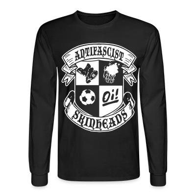 Manches longues Antifascist oi! skinheads