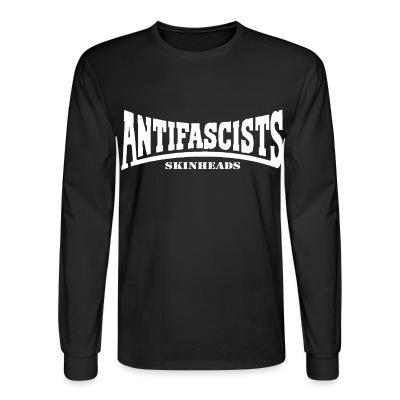 Manches longues Antifascists skinheads