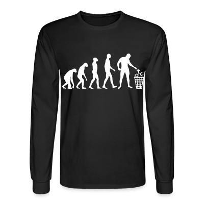 Manches longues Atheist evolution