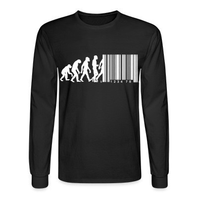Manches longues Bar code evolution