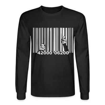 Manches longues Barcode Prisonner