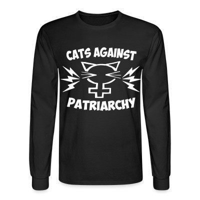 Manches longues Cats against patriarchy