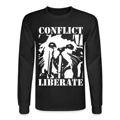 Manches longues Conflict - liberate