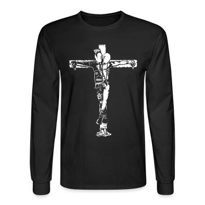 Manches longues Crucified punk & skin