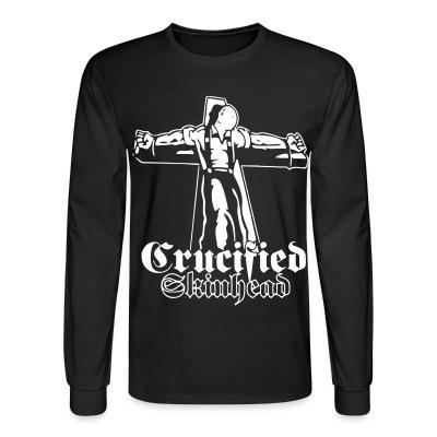 Manches longues Crucified skinhead