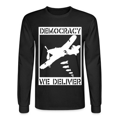 Manches longues Democracy we deliver