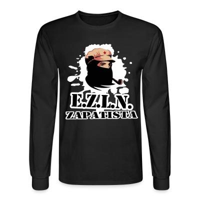 Manches longues E.Z.L.N. Zapatista