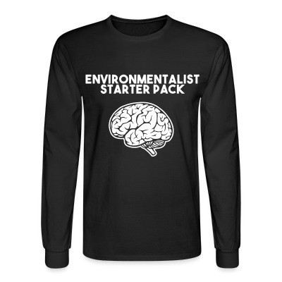 Manches longues Environmentalist starter pack