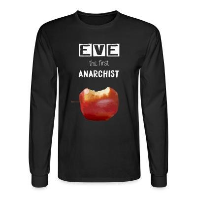 Manches longues Eve the first anarchist