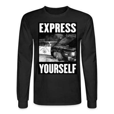 Manches longues Express yourself