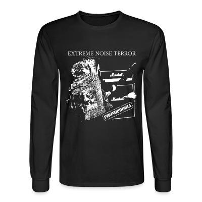Manches longues Extreme Noise Terror - phonophobia
