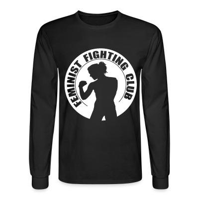 Manches longues Feminist fighting club