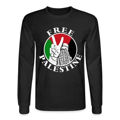 Manches longues Free palestine