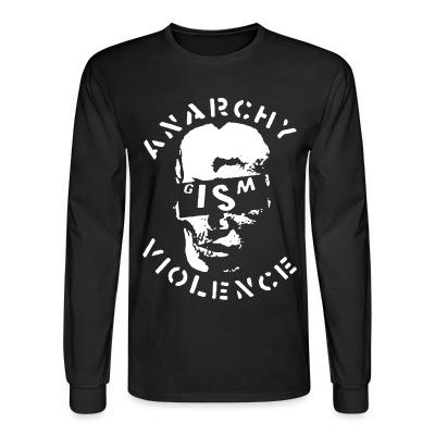 Manches longues G.I.S.M. - Anarchy Violence