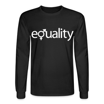Manches longues Gender equality