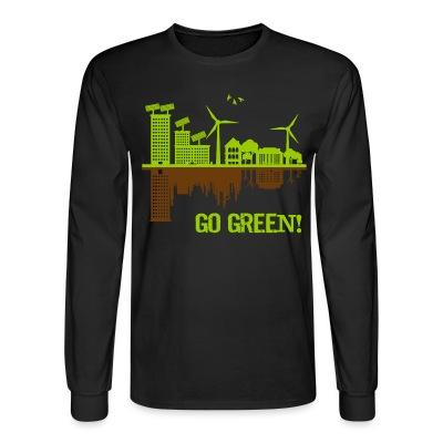Manches longues Go green!