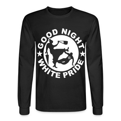 Manches longues Good night white pride