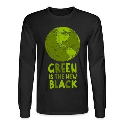 Manches longues Green is the new black
