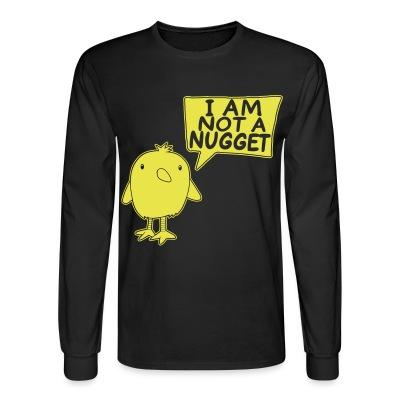 Manches longues I am not a nugget